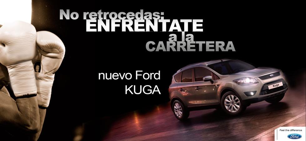 Creatividad propia para el Ford Kuga.