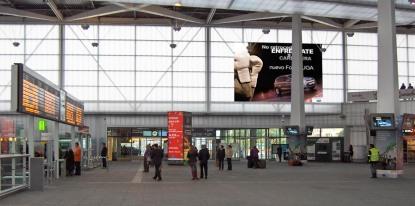 Simulación de cómo quedaría en la estación de AVE de Valencia Joaquín Sorolla.