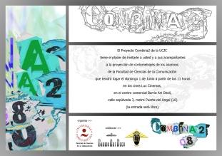 Combina2 2008 Invitación