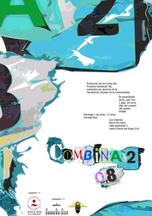 Combina2 2008 Cartel